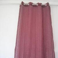 Best Striped shaggy design voile/organza curtain wholesale