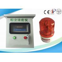 Quality Inhalable Particles PM 10 Dust Concentration Detector With Sound / light Alarm wholesale