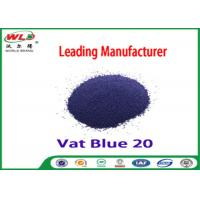 Best C I Vat Blue 20 Dark Blue Bo Dyeing Of Cotton With Vat Dyes AAA Credit wholesale