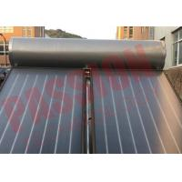 Best Compact Swimming Pool Solar Powered Hot Water Heater Flat Plate Blue Film Coating Solar Collector wholesale