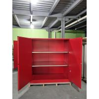 Best Red Flammable Paint Storage Cabinets Adjustable Shelf For Chemical Hazardous wholesale