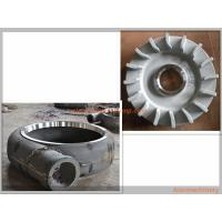 Best Aier Slurry Pump Parts Centrifugal Pump Impeller Anti Wear A05 / A49 / Cr26 / Cr27 Material wholesale