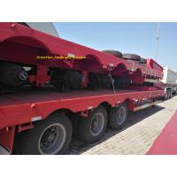 China 3 Axles Double Function Container Semi Trailer , Utility Semi Trailers Heavy Duty Semi Trailers on sale