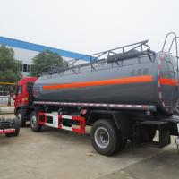 Best Red FAW 15000L 8×4 Hydrochloric Acid Tanker Truck Diesel Fuel Type Manual Transmission wholesale