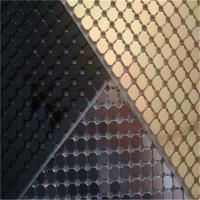 Best Decorative Aluminum Sequins Fabric Mesh For Table Cloth / Table Runner wholesale