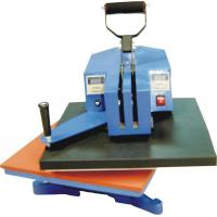 Buy cheap where to buy high quality best price manual shaking head heat press machine from wholesalers