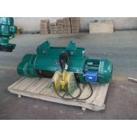 Buy cheap Famous Brand ISO/FEM CD/MD model China Widely Used 2t,5t,10t electric hoist from wholesalers