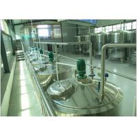 Best Can Package Soft  Drinks Production Line With Bottle Inverted Sterilizer wholesale