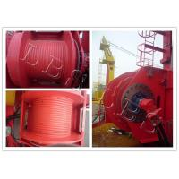 Best Single Drum Electric Winch Machine 45kn 50kn Rated Load For Hoist And Marine wholesale