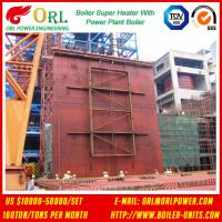 Best 10T - 1000 Ton CFB Boiler Petrochemical Biomass Industry Superheater Coils High / Low Pressure wholesale