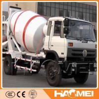 China concrete mixer truck weight on sale