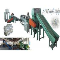Best Floating PP PE Waste Plastic Recycling Extruder Single Screw 500kg/H Capacity wholesale