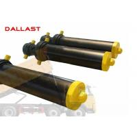 Best Hollow Plunger Single Acting Telescopic Cylinder Dump Truck Front Hydraulic Type wholesale
