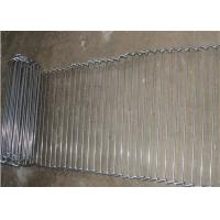 Cheap Customized Flat Wire Mesh Conveyor Belt Running Smoothly And Free Samples for sale