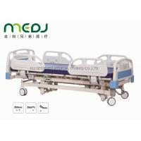 Adjustable Electric Hospital Bed MJSD04-01 ABS Steel Frame With 3 Functions