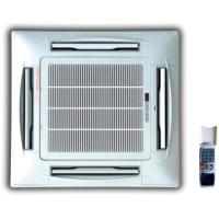 China Chilled water 4 way ceiling concealed cassette type fan coil units-200CFM 4 TUBE on sale