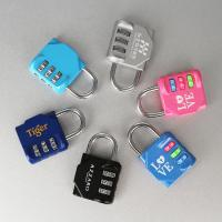 Best Traveling Luggage Flexible Wire Padlock Suitcase Cable Padlock Heart wholesale