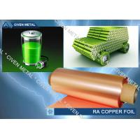 Quality Rolled copper foils for LI-ION Battery with high quality wholesale