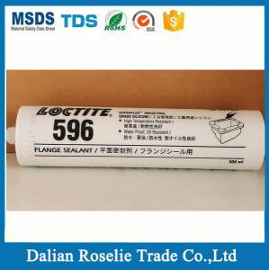 China loctite 596 superflex rtv silicone sealant ,red high temp silicone adhesive - loctite 596 high temperature silicone on sale