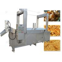 China Continuous Automatic Fryer Machine Batch Frying Machine Gas Heating Energy on sale