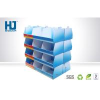 Best Cube Cardboard Display Stand For Products Promotion , Retail Store Display Racks wholesale