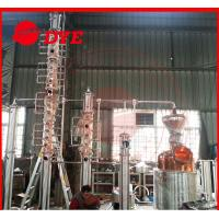 Best DYE Electric Red Copper Distillation Equipment With Parrot Outlet wholesale