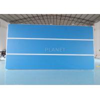 Best Blue 6x3x0.2m Inflatable Air Track For Swimming Pool Floating Mat wholesale