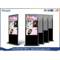 Quality 65Inch 2-32 point Multitouch and Windows 10 Free Standing Digital Signage Kiosks wholesale