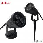 Best IP65 round D95mm black exterior 3W LED garden lights for hotel wholesale