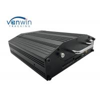 Best 4G GPS WIFI 720P VGA Mobile Cctv Dvr 4 Cameras Monitoring With 2 Tera Hard Disk wholesale