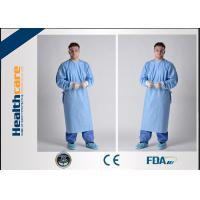 Buy cheap Hospital Disposable Surgical Gowns , Waterproof Disposable Sterile Gowns For Doctor from wholesalers