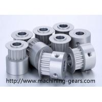 China Stainless Steel Synchronous Belt Pulley Wheels For Sewing / Printing Machine on sale