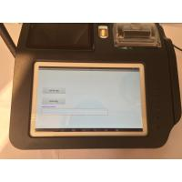 Quality Smart Fingerprint Authentication Wireless POS Terminal with Build - in Camera wholesale