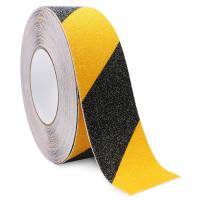 Buy cheap Yellow Black Anti Slip Adhesive Safety Tape High Traction Warning For Outdoor from wholesalers