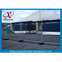 Best Flexible Green Temporary Fencing Panels / Temporary Security Fence Panels Durable wholesale