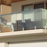 Best High Quality Modern Design Stainless Steel and Glass Balcony Railings wholesale