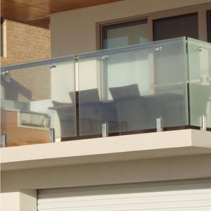 Cheap Deck Railing for Villa / Modern Stainless Steel Glass Railing / Balcony Railing for sale