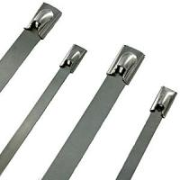 Best CE ISO9001 self - locking PVC coated stainless steel cable tie for cables, signs, hoses wholesale