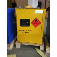 Best 12 GAL Vented Chemical Storage Cabinets With Double Layer For Flammable Goods wholesale