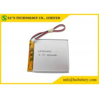 China LP354453 3.7 V 800mah Battery , Lithium Polymer Rechargeable Battery on sale
