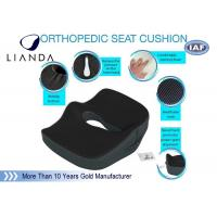 Best Enhanced Memory Foam Cushion Relief For Orthopedic Coccyx , Back , Sciatica wholesale