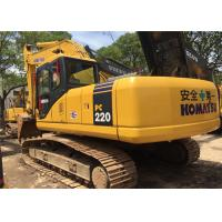 Best 2009 Year 22 Ton Second Hand Diggers Komatsu PC220 - 7 With High Performance wholesale