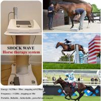 Buy cheap High energy shock wave therapy machine veterinary shock wave therapy machine for racehorse from wholesalers