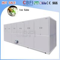 Best Stainless Steel Ice Cube Machine 10 Tons , Ice Maker Machine With LG Electrical Components wholesale