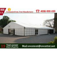 Best ABS Hard Wall A Frame Tent Customized 12 X 12m  Business Promotion European Style wholesale