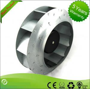 Cheap 280mm EC Blower Fan / Centrifugal Ventilation Fans Backward Curved For Heat Pumps for sale