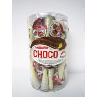 Buy cheap PVC bottle packing wafer biscuit  chocolate ice cream / crispy and delicous from wholesalers