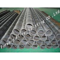 Quality Stainless steel perforated exhaust tube / perforated cylinder / perforated filter wholesale