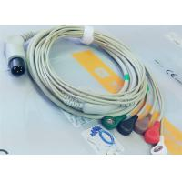 Best M&B 6 Pin Snap AHA ECG Patient Cable For Medical Equipment , Electrode Lead Wires wholesale