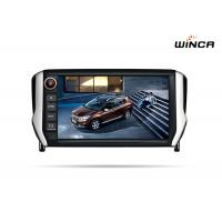 China TV DVD Touch Screen Radio With Navigation 8 Inch Peugeot 2008 Sat Nav on sale
